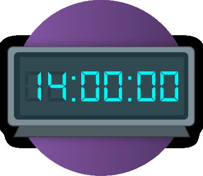 The 14-hour window
