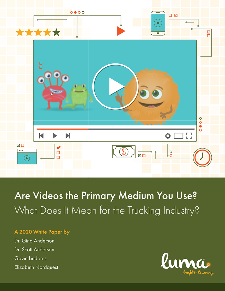 """Are Videos the Primary Medium You Use?"