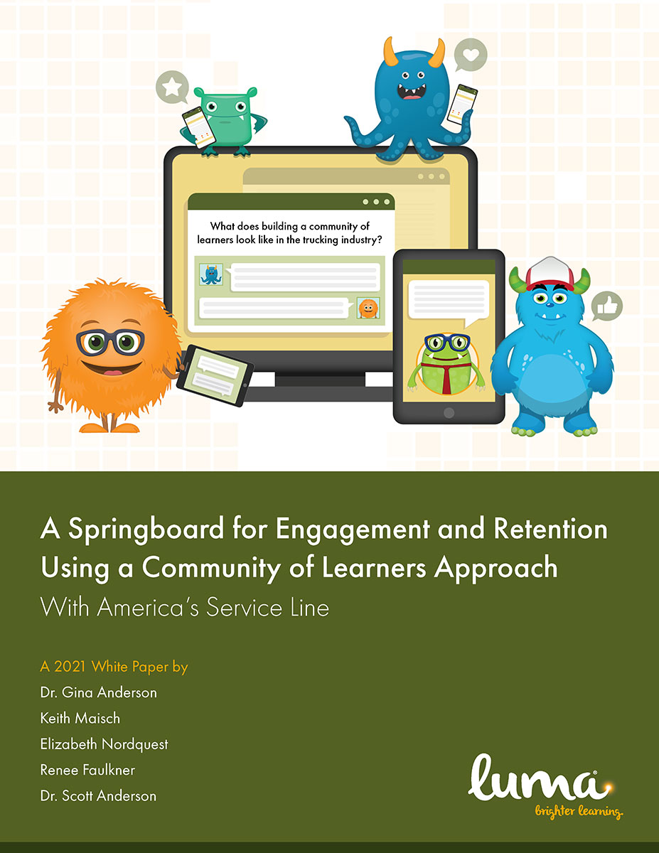 A Springboard for Engagement and Retention Using a Community of Learners Approach
